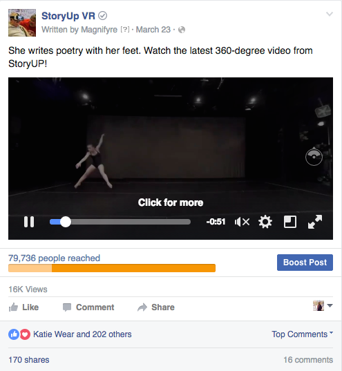 360 Video Case Study